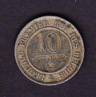 BELGIUM MORIN CAT N° 134 TTB++  1862  (A61) - 1831-1865: Léopold I