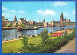 Deutschland; Frankfurt A Main; Mainpartie - Frankfurt A. Main
