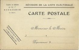 34 MAUGUIO POLITIQUE LISTE ELECTORALE MAIRIE MAIRE LOI HERAULT - Mauguio