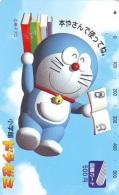 Télécarte Japon * MANGA * Chat * DORAEMON (446) Cinéma Animé CAT Japan PHONECARD * MOVIE FILM * TK Cartoon Cinema - Comics