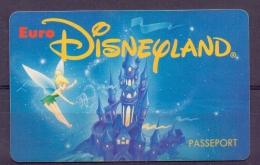 Frankrijk - Disney - Passeport - 2 Scans - Disney