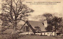CPA   38   ENVIRONS DE MONESTIER-DE-CLERMONT---LA FERME DES GUILLONS ET SON VIEUX CHENE - Sonstige Gemeinden