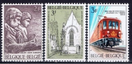 B+ Belgien 1969 Mi 1543 1544 1545 Mnh Arlon, Schule, Lok - Belgio