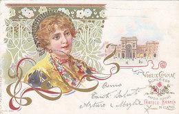 "Fratelli Branca - ""Vieux Cognac"" - Litho - 1902          (PA-8-130331) - Werbepostkarten"