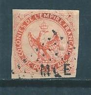 Colonie Type Aigle Impériale Timbre De 1859/65  N°5 Oblitération De Martinique - Aigle Impérial