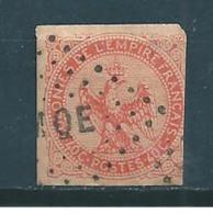 Colonie Type Aigle Impériale Timbre De 1859/65  N°5 Oblitération De Martinique - Eagle And Crown