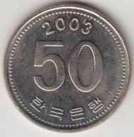 @Y@     Zuid Korea  50 Won  2003  UNC    (4042) - Korea (Süd-)