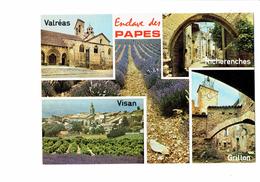 Cpm - L'ENCLAVE DES PAPES - Vaucluse - VALREAS VIGAN RICHERENCHES GRILLON - Vigne Champ De Lavande - Ohne Zuordnung