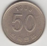 @Y@     Zuid Korea  50 Won  1989    (4043) - Korea (Süd-)