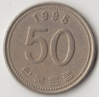 @Y@     Zuid Korea  50 Won  1995    (4044) - Korea (Süd-)