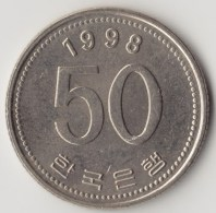 @Y@     Zuid Korea  50 Won  1998  XF+    (4046) - Korea (Süd-)