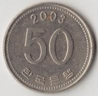 @Y@     Zuid Korea  50 Won  2003    (4047) - Korea (Süd-)