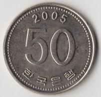 @Y@     Zuid Korea  50 Won  2005  XF    (4048) - Korea (Süd-)