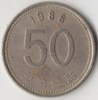 @Y@     Zuid Korea  50 Won  1988    (4049) - Korea (Süd-)