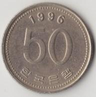@Y@     Zuid Korea  50 Won  1996  XF    (4050) - Korea (Süd-)
