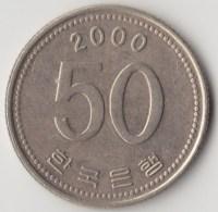 @Y@     Zuid Korea  50 Won  2000  XF    (4051) - Korea (Süd-)