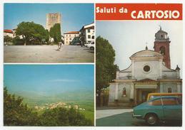 ALESSANDRIA (040) - Saluti Da CARTOSIO (vedute) - FG/Vg 1979 (spedita, Con Firma, Dal Parroco) - Alessandria