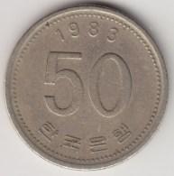 @Y@     Zuid Korea  50 Won     1983    (4053) - Korea (Süd-)