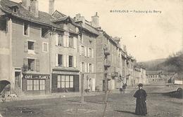 CPA Marvejols Faubourg Du Barry - Marvejols