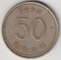 @Y@     Zuid Korea  50 Won     1994    (4054) - Korea (Süd-)
