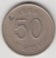 @Y@     Zuid Korea  50 Won     1984    (4055) - Korea (Süd-)
