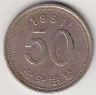 @Y@     Zuid Korea  50 Won     1991    (4056) - Korea (Süd-)