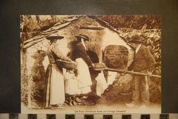 Cp, 46,  Autrefois, In The Old Days, Le Four Commun Dans Un Village Cévenol, Cevennes,  REPRO - France