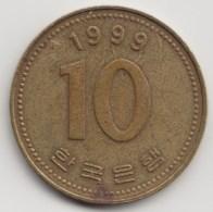 @Y@     Zuid Korea  10 Won     1999    (4059) - Korea (Süd-)