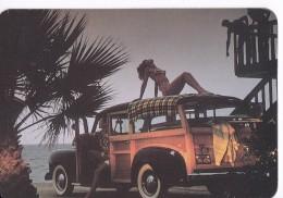 CALENDARIO DEL AÑO 1997 DE UNA CHICA SEXI (NUDE-DESNUDO) (CALENDRIER-CALENDAR) - Tamaño Pequeño : 1991-00