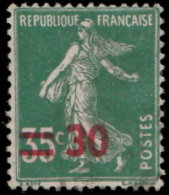 France 1940. ~ YT 476 - 30 / 35 C. Semeuse Camée - 1906-38 Semeuse Camée