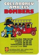 CALENDARIO DEL AÑO 1982 DE LOS BOMBEROS DE LA GENERALITAT DE CATALUNYA (CALENDRIER-CALENDAR) BOMBERO - Calendarios