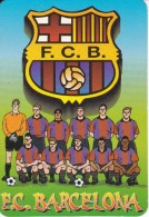 CALENDARIO DEL AÑO 2001 DEL FUTBOL CLUB BARCELONA (CALENDRIER-CALENDAR) FOOTBALL - Calendarios
