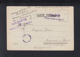 CP Prisonniers De Guerre Moulins 1918 - Poststempel (Briefe)