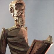 ~ STATUE DON QUICHOTTE AU LIVRE # Sculpture Cervantes Souvenir Espagne Art Populaire Littérature Livre Sancho - Bois