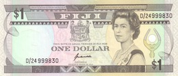 FIJI 1 DOLLAR ND (1993) P-89 UNC  [FJ501b] - Fiji