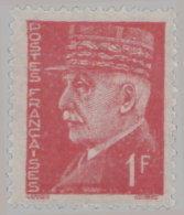 France 1941. ~ YT 514** - 1 F. Pétain - 1941-42 Pétain