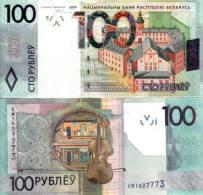 BELARUS 100 Rubles P 41 Denomination Reform 2009 ( 2016 )  UNC - Belarus
