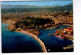 S1168 06] Alpes Maritimes > Nizza - Nice, Vue Generale Sur Le Port Et La Ville _ ECRITE 1967 - Nizza