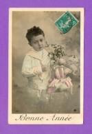 CPA  FANTAISE  ENFANTS  ~   361  Bonne Année  ( As De Pique 1911 ) - Fantaisies