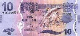 FIJI 10 DOLLARS ND (2013) P-116 UNC  [FJ527a] - Fiji