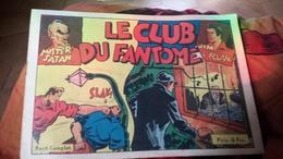 Le Club Du Fantome Jim L'eclair Mister Satan - Magazines Et Périodiques