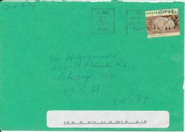 Australia Cover Sent To USA 27-12-1996 Single Franked - 1990-99 Elizabeth II