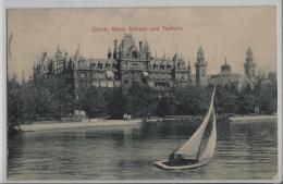 Zürich - Rotes Schloss Uns Tonhalle - ZH Zurich