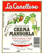 Etiquette De Marsala, Vin , Amande Et Fleur - Fruit En Groenten