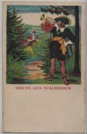 Gruss Aus Waldkirch (St. Gallen) Litho - SG St. Gall