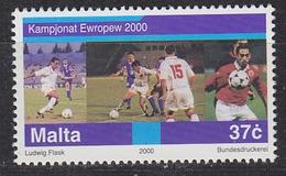 Malta 2000 European Championship Football 1v ** Mnh (33817H) - Championnat D'Europe (UEFA)