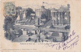 CPA 51. Rare. REIMS. Exposition 1903. Place Du BOULINGRIN. Exclusivité Grand Bazar De Reims. - Reims