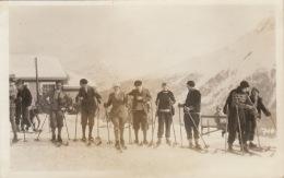Photo Carte Postale Saint Moritz Grisons Sport D´hiver Ski - Places
