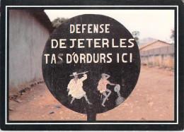 Afrique- BENIN PORTO NOVO  Panneau Urbain (Chez Bonne Idée Editions : ZREIK Photo Lerat N°14)*PRIX FIXE - Benin