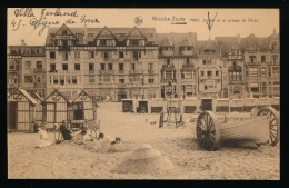 KNOKKE === HOTEL JACOBS ET UN GROUPE DE VILLAS - Knokke